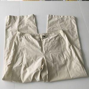 "LOFT Ann Taylor Wide Leg Crop Pants 29"" Inseam"